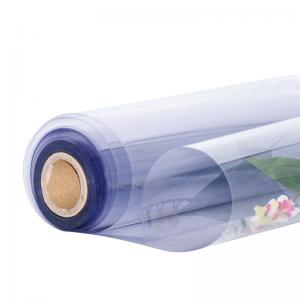 Plastic Sheet Recycled PVC Rigid Protective Film 05mm thick