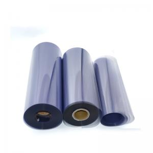 Rigid Thermoforming Plastic PVC Roll Custom Food Wrap Film