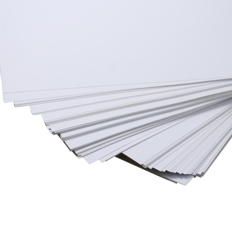 A4 White Pet Paper Thin Flexible Plastic Printing Sheets