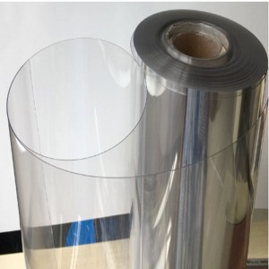 Hot Sale Vacuum Forming Clear Rigid PET Plastic Film For Blister Medicine Package