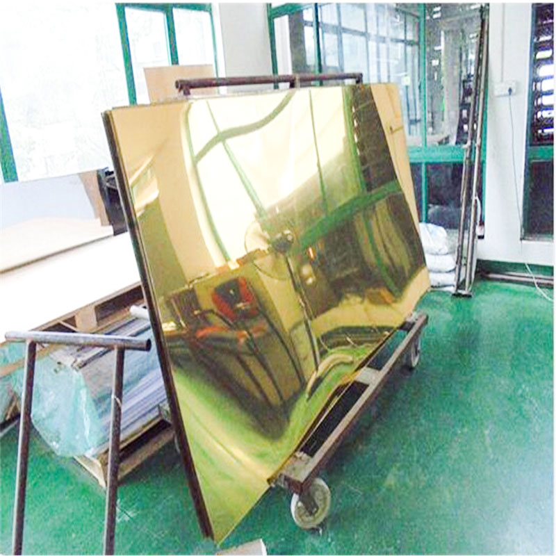 Factory Customized 0.8mm 4'X8 High Glossy Color  PVC Mirror Sheet For Mirror